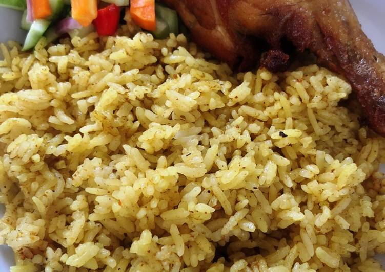 Nasi Kebuli bumbu instan - cookandrecipe.com