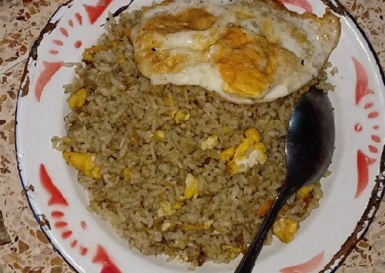 Nasi goreng cabe hijau (royco)