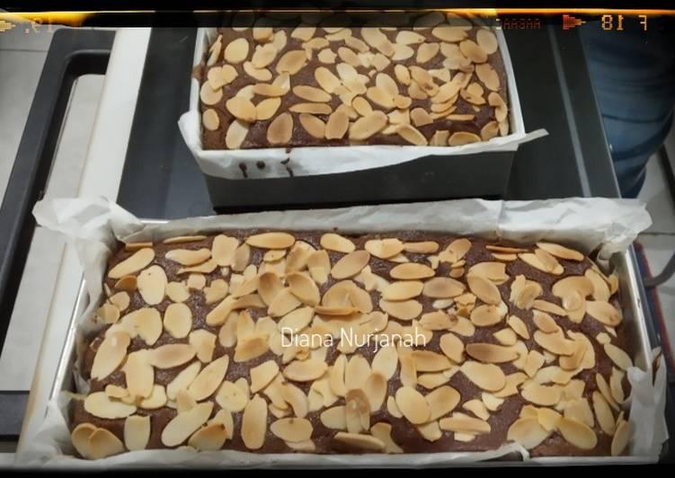 Brownies panggang simpel