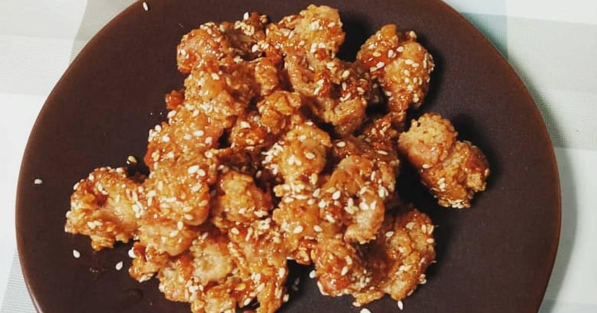 Resep Korean Honey Chiken With Sesame Oil Oleh Diana Anggraeni Cookpad
