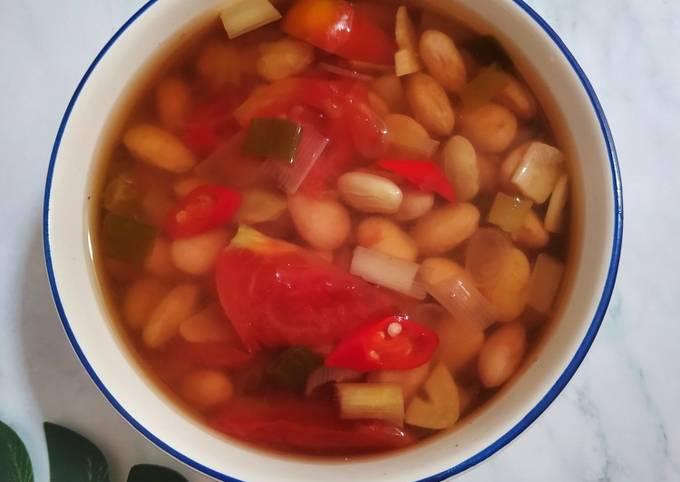 sayur asem kacang merah - resepenakbgt.com