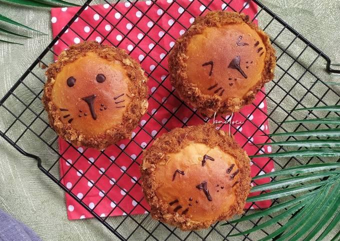 Roti Abon (pakai kentang)