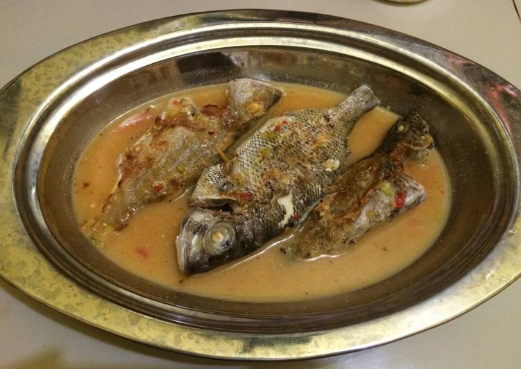 Ikan bakar paserre'
