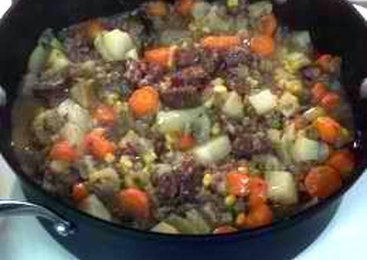Steps to Make Super Quick Homemade Major's venison stew