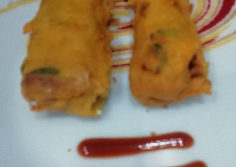 Learn How to Boost Your Mood with Food Rolled Sandwich Pakora