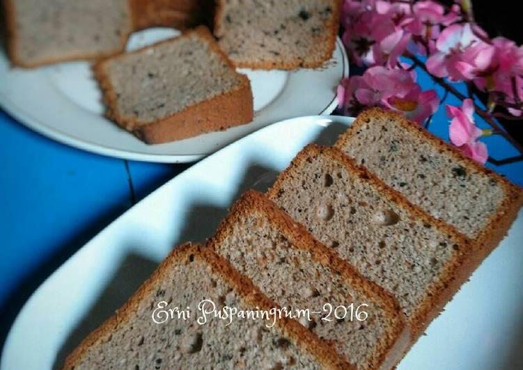 Chocolate Oreo Milk Chiffon Cake