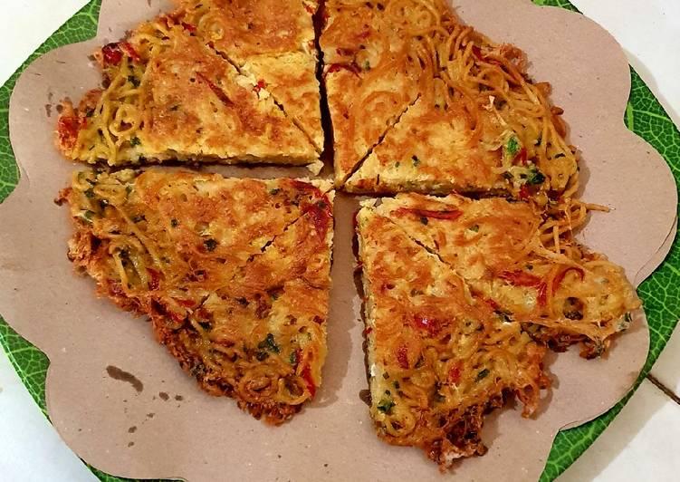 Resep Omelet Indomie Top