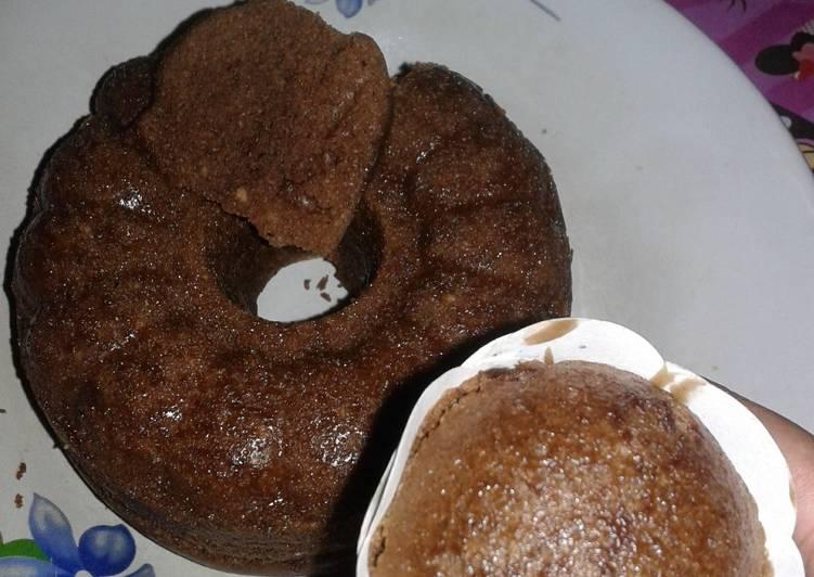 Brownies kukus choco white coffee