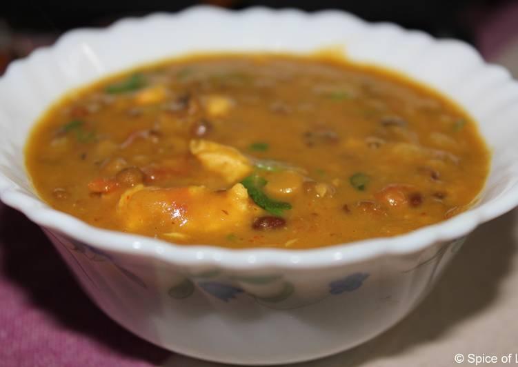 Bengali Egg Tadka Dal