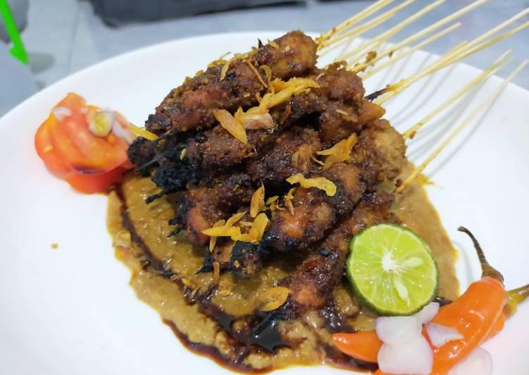Sate Ayam Madura/ Sate Ayam Bumbu Kacang - cookandrecipe.com