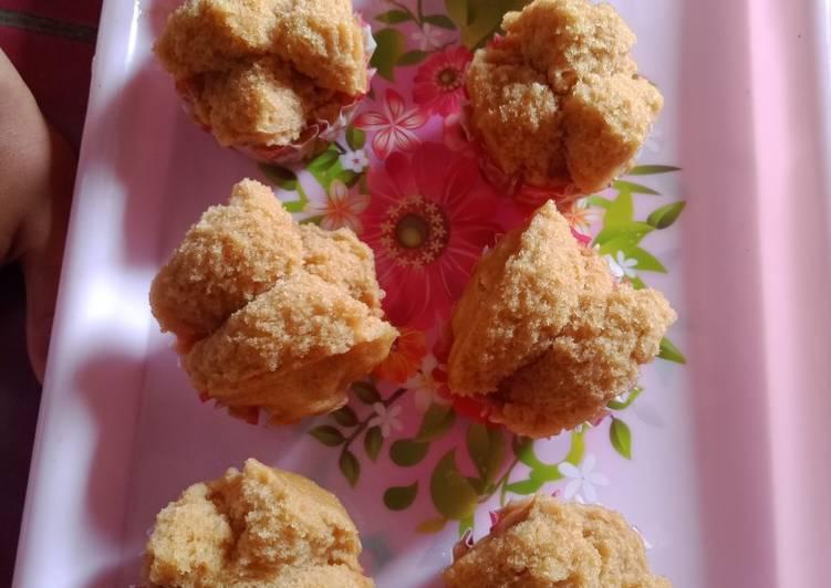 Bolu kukus gula merah wangi + lembut