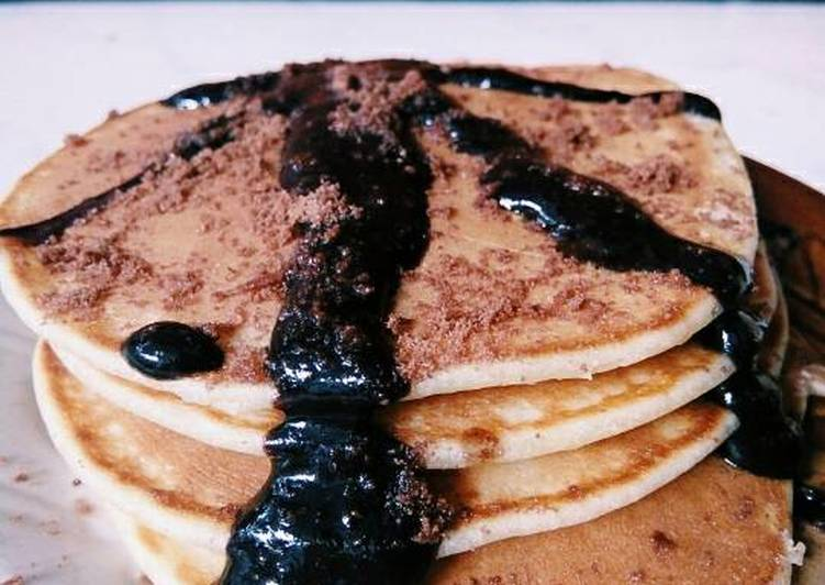 Pancake sederhana tanpa baking powder, tanpa baking soda