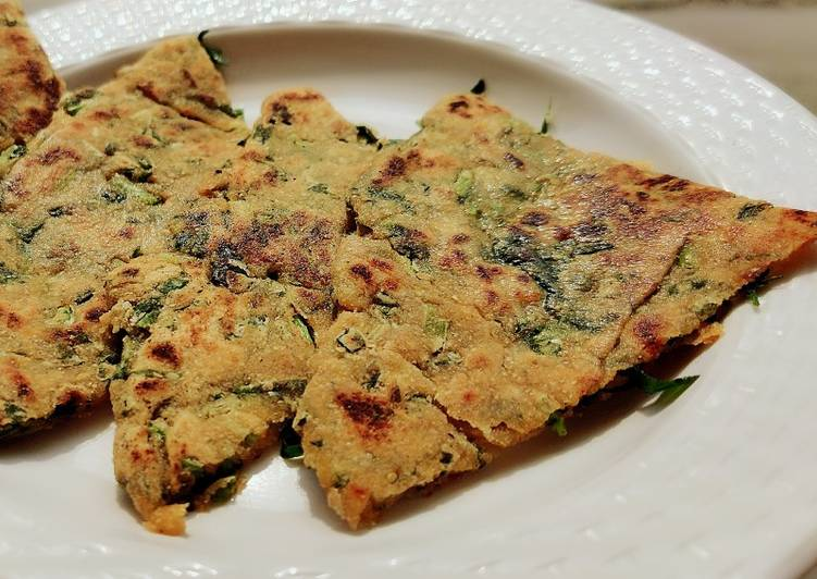 Recipe of Quick Healthy Methi parantha