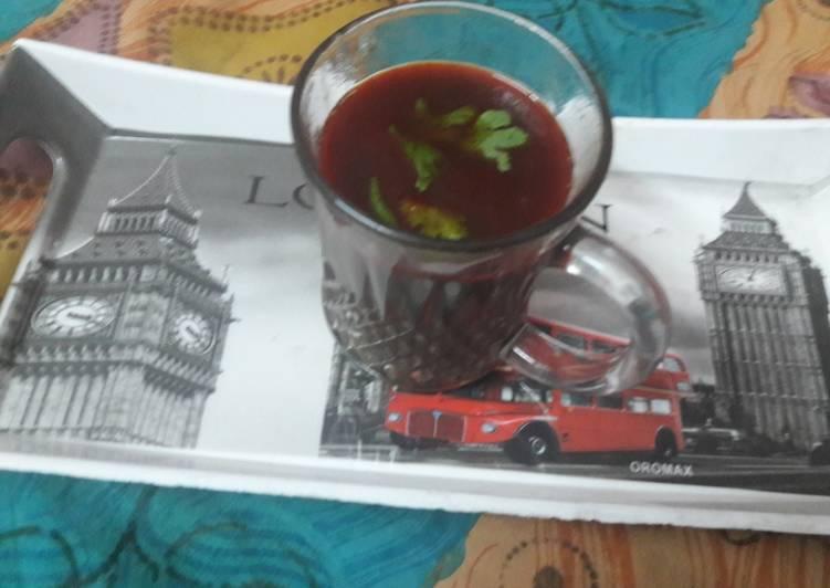 Black chana soup
