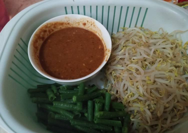 Sambal Pecel Dan Sayur