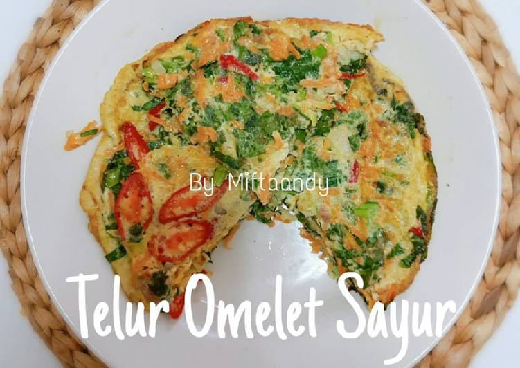 Resep Telur Omelet Sayur Oleh Miftaandy Cookpad