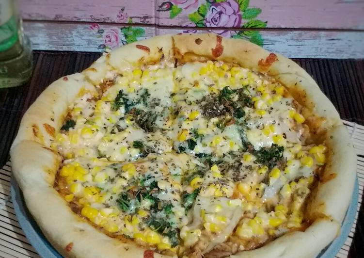 Pizza saus bolognese