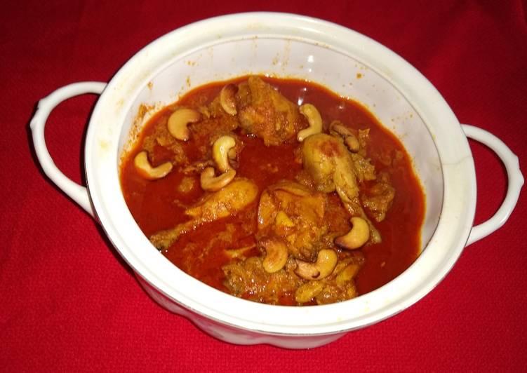 Recipe: Perfect Chicken shahi korma