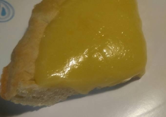Recipe: Yummy Lime Curd Tart