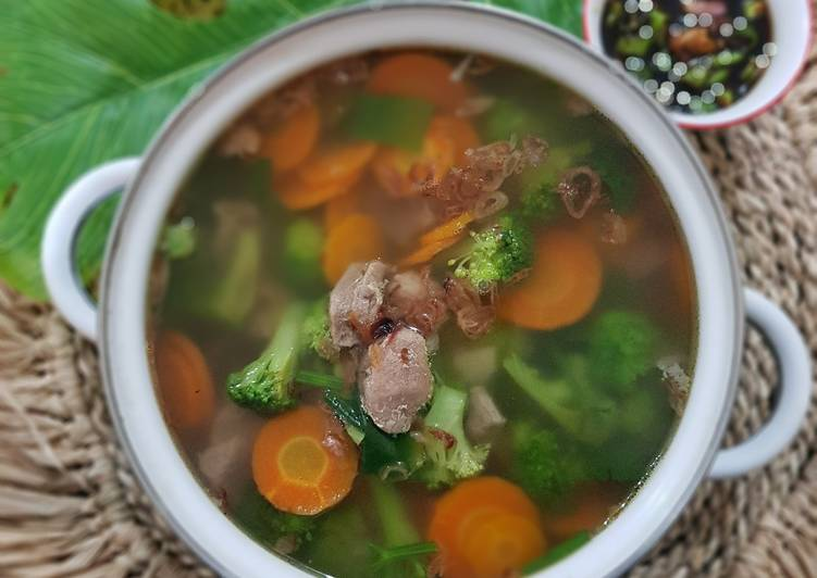 Sop Sayur Daging Sapi
