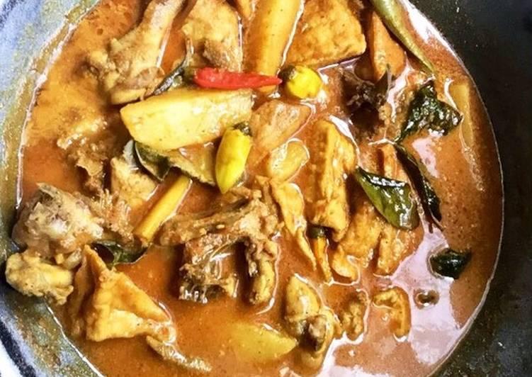 Cara Membuat Gulai Ayam Anti Gagal
