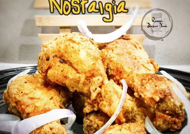 Resepi Ayam Goreng Nostalgia - velavinkabakery.com