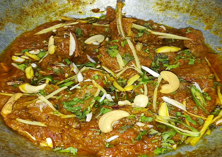 15 Minute Easiest Way to Prepare Super Quick Homemade Mutton Karahi