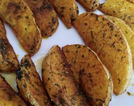 Patatas Gajo al curry (horno)