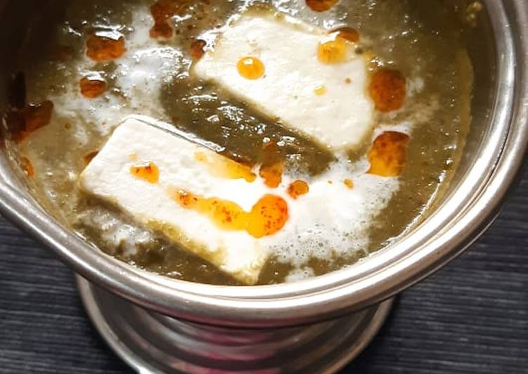 Learn How To Palak paneer