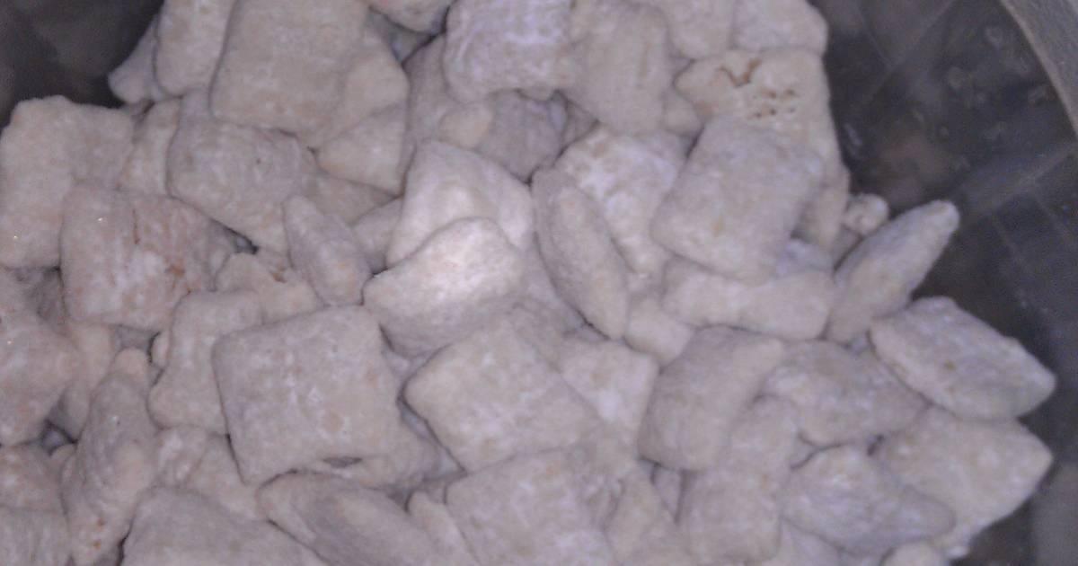 Excellent White Chocolate Funfetti Chex Mix Recipe By Hlavigne23 Cookpad Funny Birthday Cards Online Alyptdamsfinfo