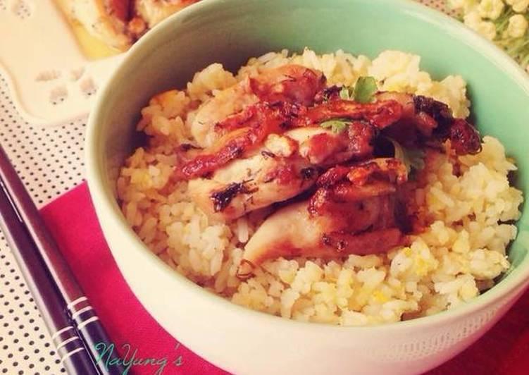 Recipe: Tasty Garlic Butter Fried Chicken Drumsticks