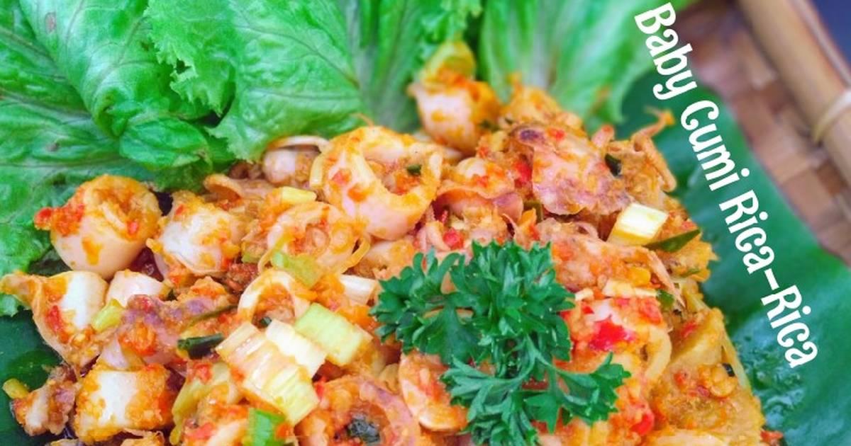 138 Resep Cumi Cumi Rica Rica Enak Dan Sederhana Cookpad
