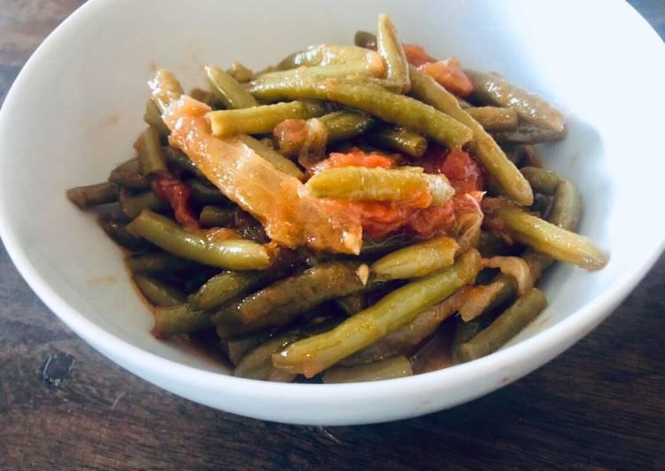Grüne Bohnen mit Olivenöl 🌿