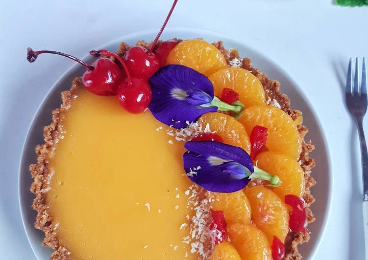Resep Orange Mouse Tart Oleh Annie Aprilia Annie Kitchen Cookpad