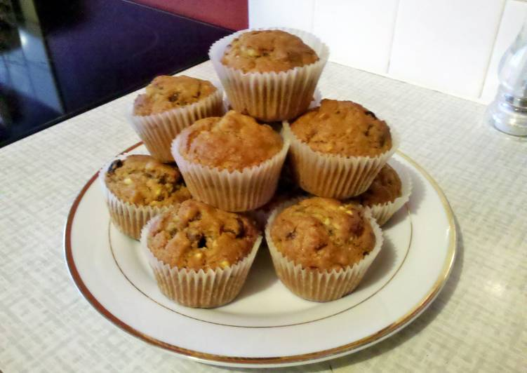 Easiest Way to Cook Perfect carrot cake muffins