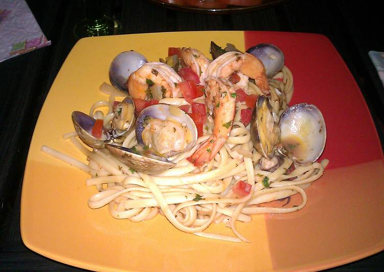 Recipe: Tasty seafood pastas