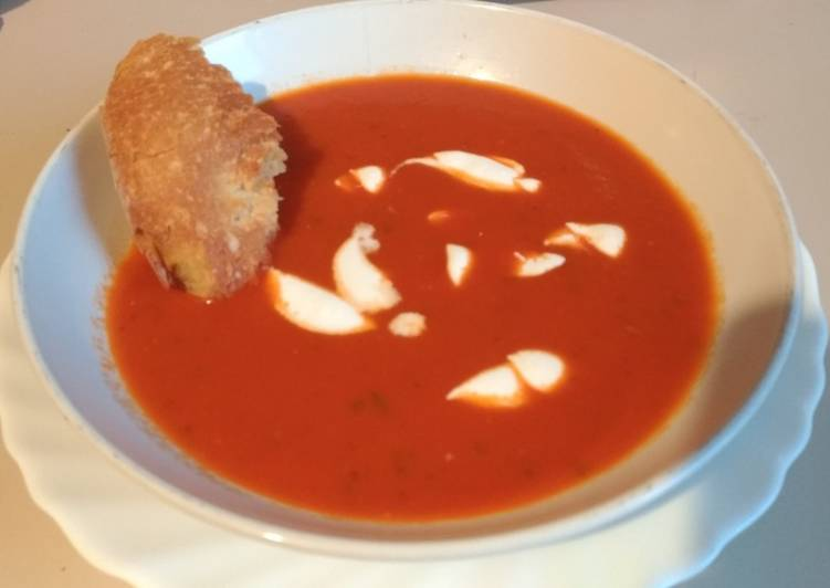 Zuppa di Pomodori/Tomato Soup/Sup Tomat