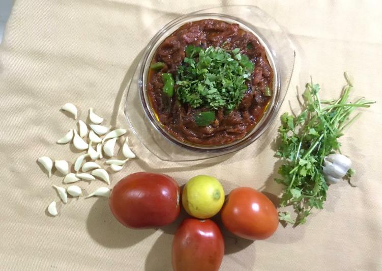 Tomato ki khatti mitthi chutney