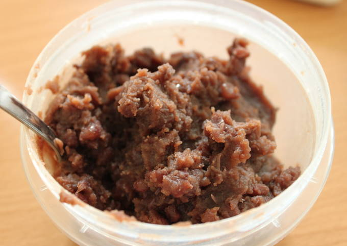 How to Make Favorite Bean Jam (Anko)