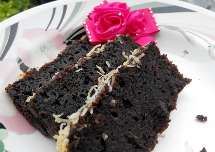 Cake Custard Coklat Paling Enak di Dunia