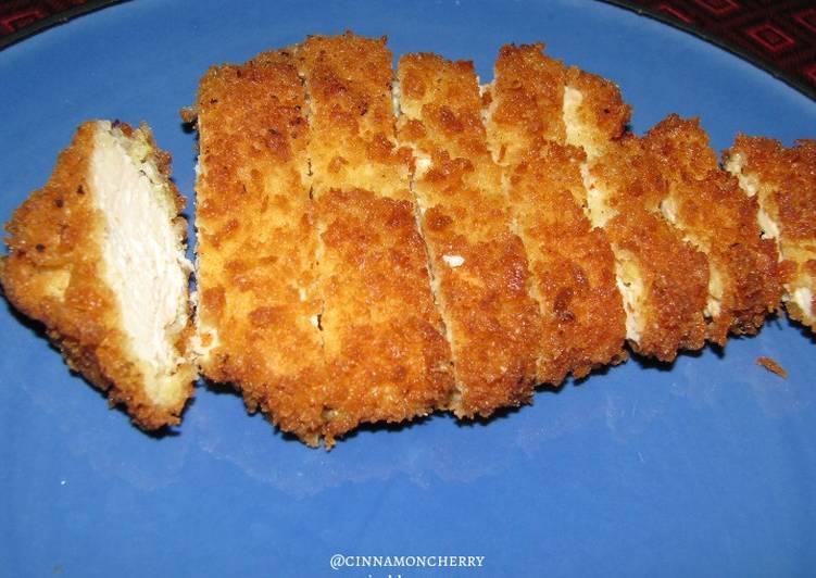 Simple Way to Prepare Quick Chicken Katsu