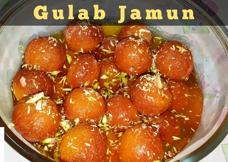 Gulab Jamun Recipe by Food 4 U