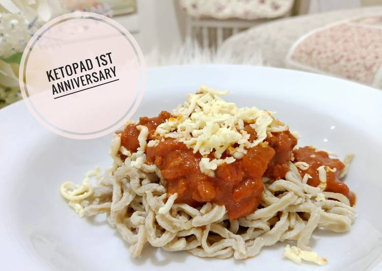 Resep Spaghetti Bolognaise Low Karbo Paling dicari