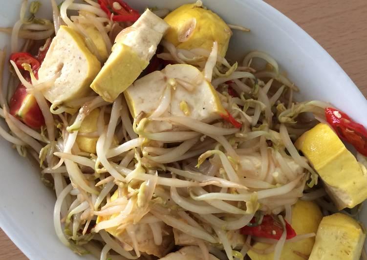 Resep Tumis Tahu Toge Sederhana Oleh Fahmiaw Cookpad