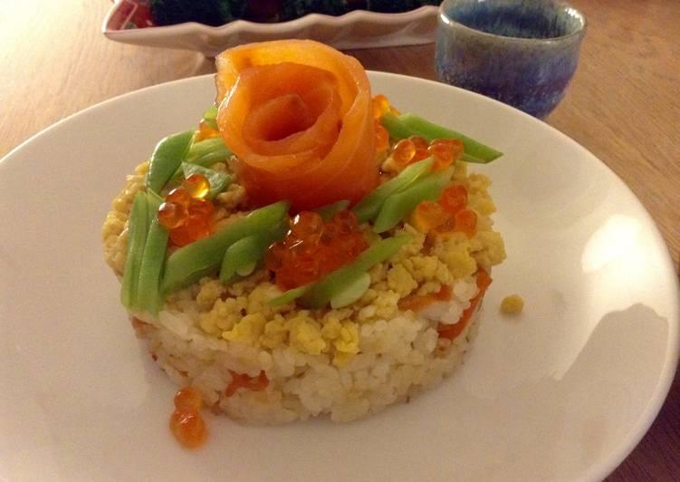 Gâteau de sushi