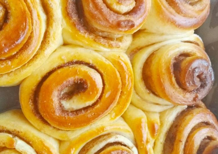 Recipe of Homemade Cinnamon Rolls