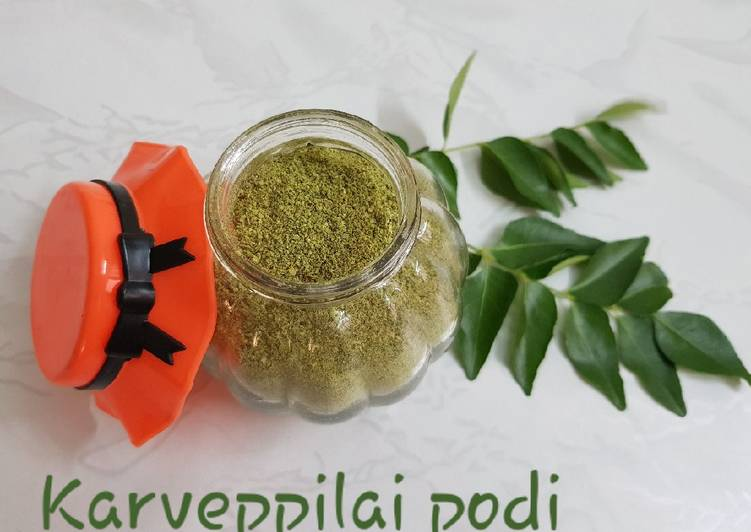 Recipe of Most Popular Curry leaves powder