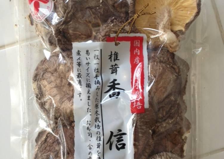 Japanese Shiitake Soup Stock