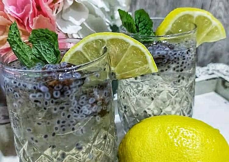 Soda lemon Pudina - resepipouler.com