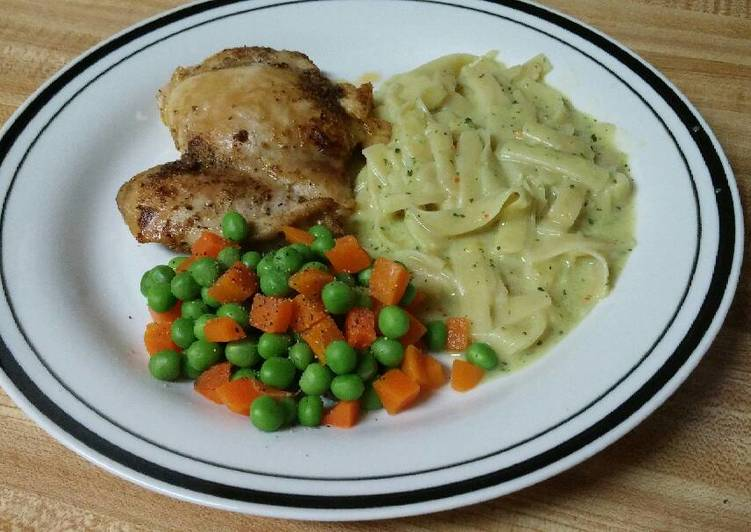 Recipe of Perfect Easy Baked Chicken Thighs